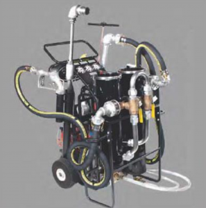 37 GPM, 120/220-volt AC, High Pressure Diesel Fuel Tank Cleaning System Model FPS-PW- diesel only