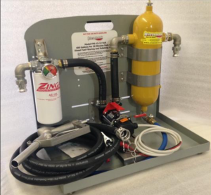 600 Gallons Per Hour, 12-volt DC, Hand Carry Diesel Fuel Polishing System- diesel only
