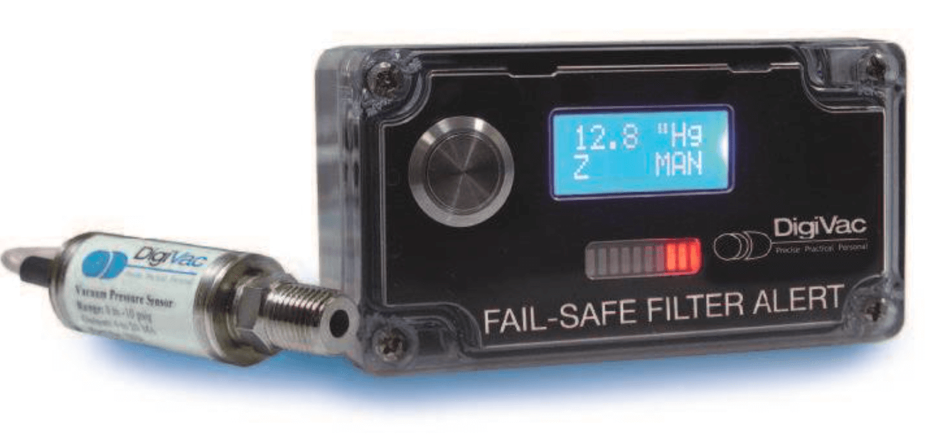 Fail-safe fuel filter alert system
